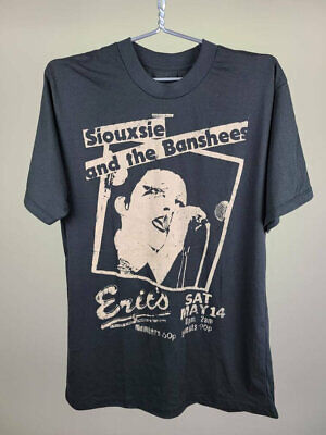 Siouxsie And The Banshees Tee T Shirt L Large Faded Black Vintage Men Gift Tee • 5£