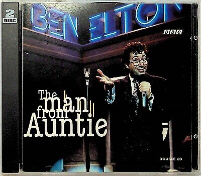 £9.99 • Buy Ben Elton -The Man From Auntie 2-CD -Stand Up Comedy -BBC TV Series RARE