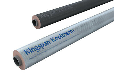 £38.20 • Buy Kingspan Kooltherm Phenolic BCO Foil Faced Pipe Sections 15,20,25 &30mm UK