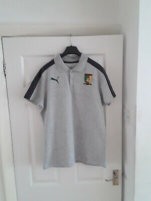 £15 • Buy Cameroon Large Football Polo Shirt Mint Condition