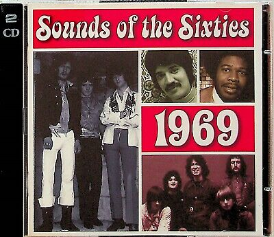 Time Life- Sounds Of The Sixties, Best Of 1968 Pop Soul Rock 2-CD (Cream/Byrds) • 24.99£