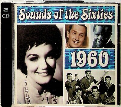 TIME LIFE Sounds Of The Sixties, Best Of 1960 Pop/Rock 2-CD (Ventures/Shadows) • 14.99£