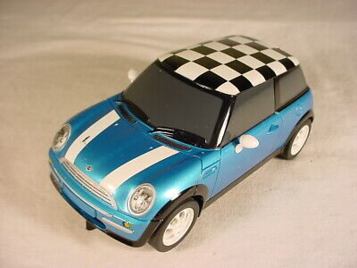 DIGITAL Scalextric BMW Mini Cooper Blue With White Stripes Mint, But See Photos. • 6£