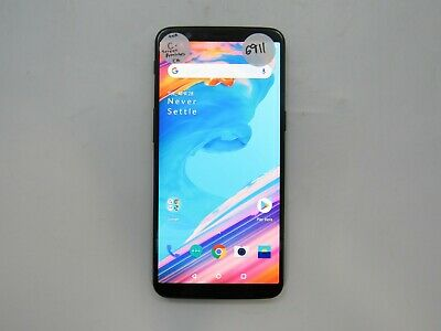AU87.43 • Buy OnePlus 5T A5010 128GB Unlocked Check IMEI Fair Condition 6-6911