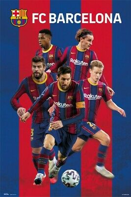 Football - Fc Barcelona 2020/2021 Group Poster Poster Print (36x24in) #130231 • 7.53£