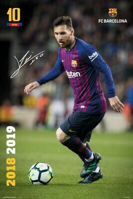 Football - FC Barcelona Lionel Messi Poster Print (36x24in) #119986 • 7.53£