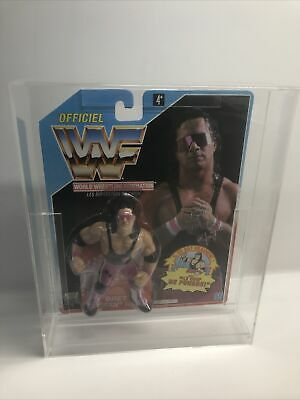 $ CDN423.17 • Buy WWF Hasbro 💓 Bret Hart 💓 Action Figure Carded Mib Moc Wcw Wwe Mattel Galoob