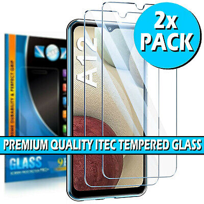 £2.99 • Buy For Samsung Galaxy A12 Gorilla Tempered Glass Screen Protector Film Cover Guard
