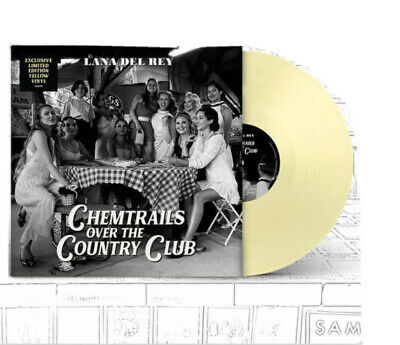 Lana Del Rey - Chemtrails Over The Country Club Exclusive YELLOW Vinyl Pre Order • 39.99£