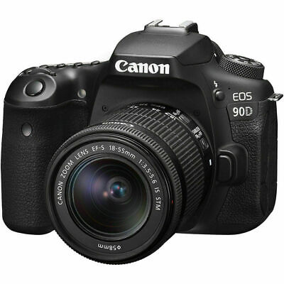 AU1695 • Buy New Canon EOS 90D Camera With 18-55mm Lens