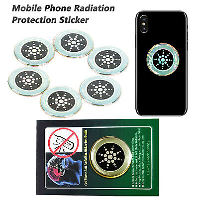 1/6Pcs Anti Radiation Sticker Protection EMF Protector Quantum Shield For Phone • 4.37£