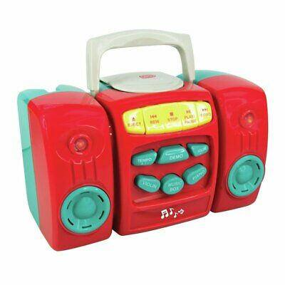 £13.99 • Buy Chad Valley CD Player - Red With Nursery Rhymes Pretend CD's X 3