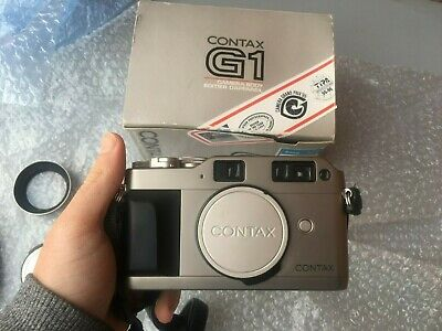 $ CDN518.34 • Buy Contax G1 35mm Rangefinder Green Label Body Only ( Very Good Conditions) + Box