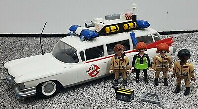 Playmobil Ghostbusters Car People 2017 Ecto 1 Lights & Sound Not Complete - USED • 37.49£