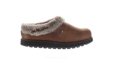 Bobs By Skechers Womens R E M Brown Mule Slippers Size 8.5 (1461000) • 24.41£