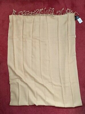 £12.99 • Buy Lovely Soft Pashmina (cashmere) Scarf, Camel Colour, New With Tags BNWT
