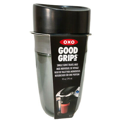 £13.22 • Buy OXO Travel Mug Good Grips 295ml In Graphite Leakproof Double Walled Insulated