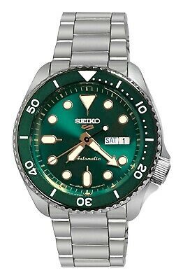 $ CDN267.27 • Buy Seiko 5 Sports Automatic Green Dial Date Day Stainless Steel Bracelet SRPD63