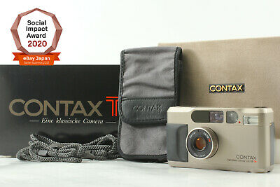 $ CDN1921.48 • Buy [UNUSED In Box] Contax T2 Point & Shoot 35mm Film Camera From Japan #1111