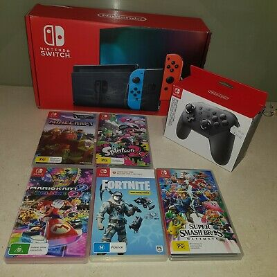AU400 • Buy Nintendo Switch Neon Joy-con Console