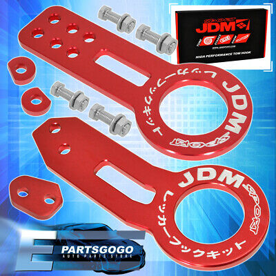 AU65.23 • Buy For Toyota Aluminum Anodized Cnc Red Front Rear Bumper Tow Hook Kit
