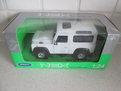 Brand New Mint In Box Welly Nex Die Cast 1:24 Scale Land Rover Defender • 5£