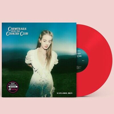Lana Del Rey Chemtrails Over The Country Club Red Vinyl Hmv Exclusive Pre-order • 34.99£