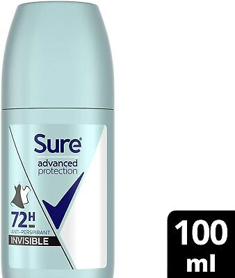 Sure Advanced Protection, 72hr Protection, Roll-On Deodorant For Women, No Mar • 2.52£