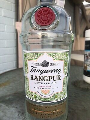 Tanqueray 'RANGPUR', Empty Gin Bottle • 3£