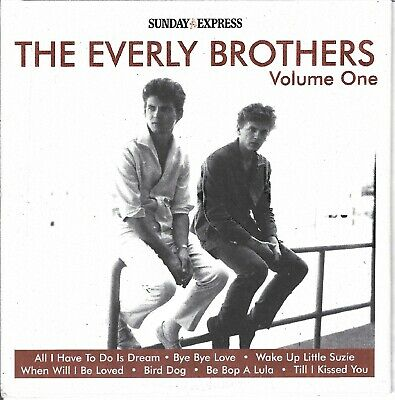 £1.49 • Buy The Everly Brothers - Disc 1 Of 2 - Sunday Express Promo Cd