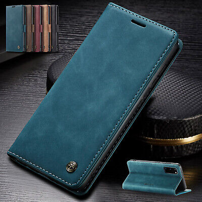 AU11.99 • Buy For Samsung S21+ S21 Ultra S20 S10 S9 S8 Note 10 Case Magnet Leather Flip Cover