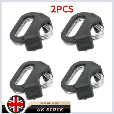 2PCS Backpacker Camera Strap With Auxiliary Metal Triangle Ring Buckle • 3.71£