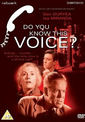 £3.45 • Buy Do You Know This Voice?  -  Brand New DVD - Dan Duryea