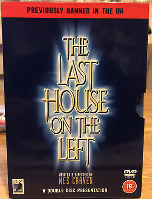 £5.99 • Buy Last House On The Left Rare Deleted 2-Disc Set Anchor Bay, Cult Horror DVD