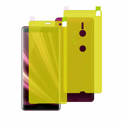 $ CDN63.42 • Buy For Sony Xperia 5 10 L3 XZ3 XA2 Ultra Front Back Screen Protector Soft Film Lot