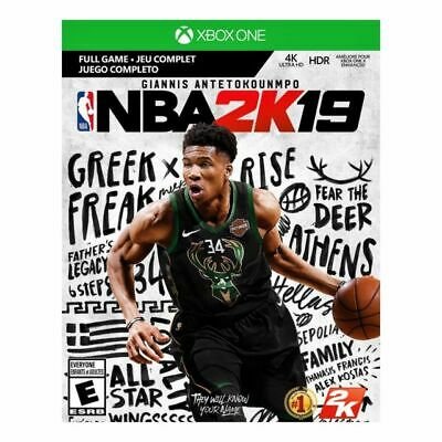 $ CDN0.01 • Buy Microsoft Xbox One NBA 2k19 Physical Game Tested Complete With Case And Manual