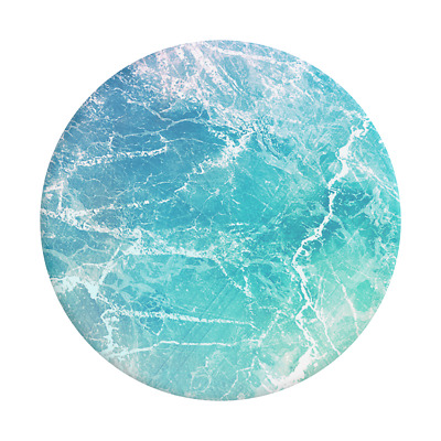 AU14.95 • Buy PopSockets PopGrip: Swappable Grip For Phones & Tablets - Ocean View