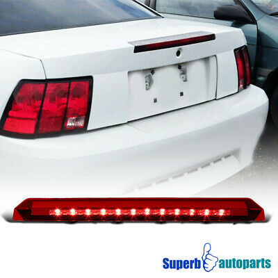 $30.38 • Buy For 99-04 Ford Mustang LED Red 3rd Brake Light Rear Third Stop Lamp 1PC