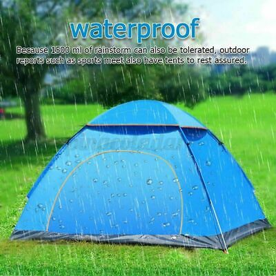 £18.99 • Buy Pop Up Tent Automatic 2/3 Man Person Family Waterproof Camping Festival Tents