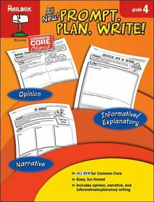 $19.27 • Buy Prompt, Plan, Write! : Grade 4 By The Mailbox Books Staff