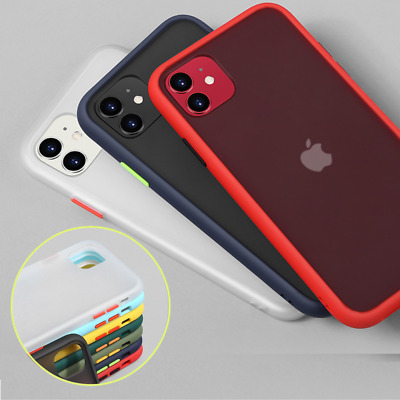 CASE For IPhone 12 11 Pro Max SE XS XR X 7 8 PLUS Silicone Phone Cover Clear • 3.49£