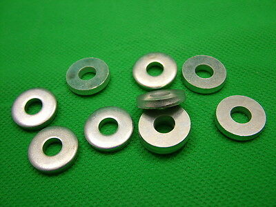 £2.99 • Buy Extra Thick Flat Spacer Washers, Steel, M6, 3mm Thick, Pack Of 10, Zinc Plated