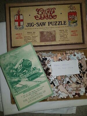 £149.99 • Buy Antique Chad Valley 1930s Great Western Railways Jigsaw Puzzle Complete
