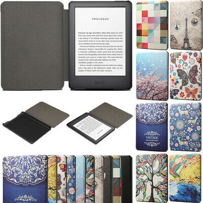 AU14.59 • Buy For Amazon Kindle Paperwhite 1 2 3 4 10th Gen 6 Smart Leather Painted Case Cover