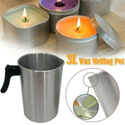 £10.03 • Buy Wax Melting Pot Pouring Pitcher Jug  Candle Soap Make Hand Tools Thermometer New