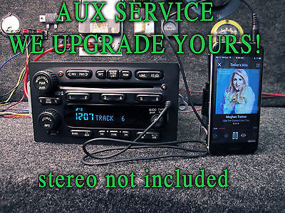 $179.99 • Buy 03 04 05 CHEVY GM GMC TRUCK SUV STEREO RADIO 6 CD DISC Player MP3 IPOD AUXILIARY