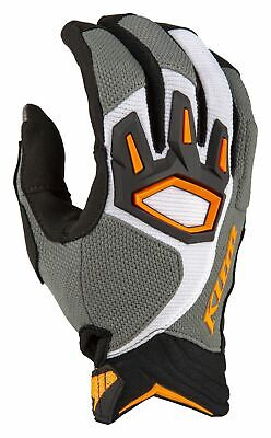 $ CDN66.93 • Buy Klim Dakar Gloves Striking Gray M MX Enduro Summer Gloves