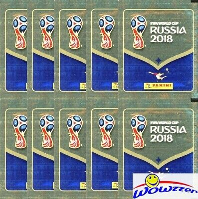 $ CDN15.73 • Buy (10) 2018 Panini World Cup Sticker Pack-50 Stickers! Rare PINK BACK-MBAPPE RC YR