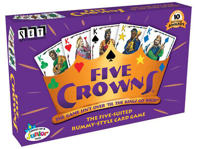 AU36.95 • Buy Five 5 Crowns Family Card Game Birthday Gift