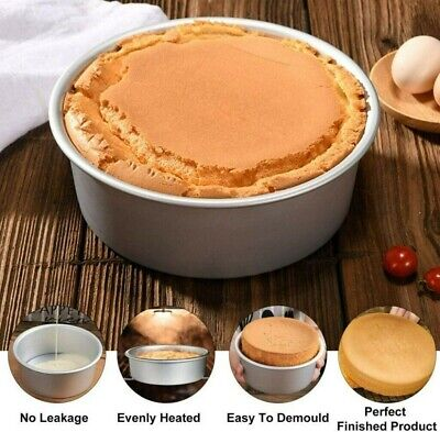 AU11.39 • Buy 6 Inch Cake Mold Round DIY Cakes Pastry Mould Baking Tin Pan With Loose Base
